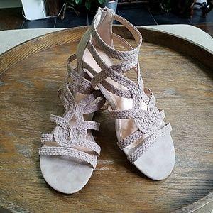 "Lauren Conrad ""Baneberry"" Gladiator  Sandals 10"